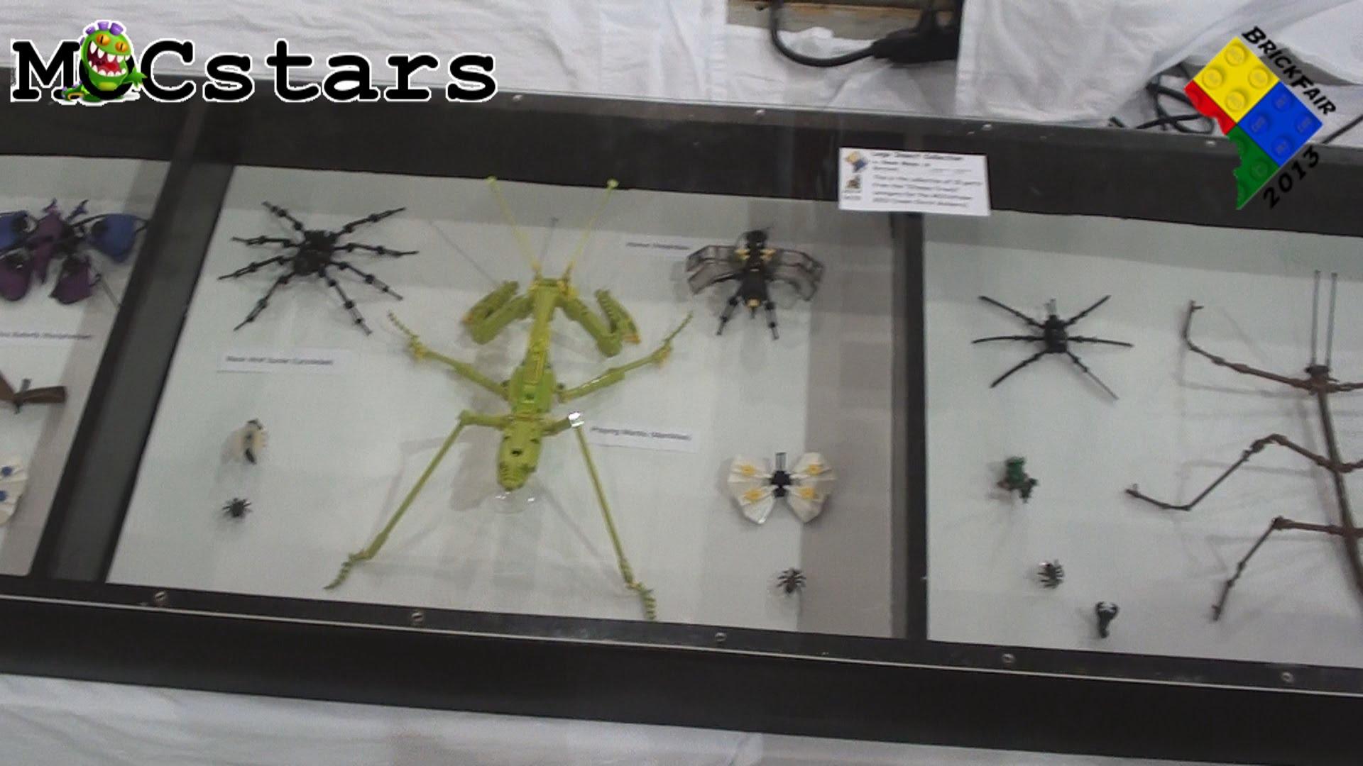 【LEGO】レゴで作った昆虫が本物の標本にしか見えない