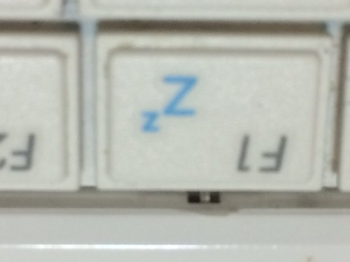 ASUS EeePC1005HAキーボード