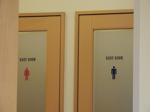 トイレ男女