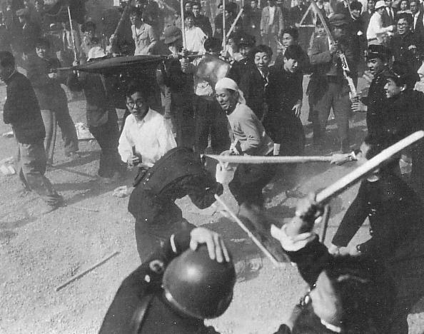 日本共産党「血のメーデーは警察の企図」と赤旗に記述