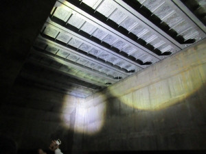 豊洲新市場重機搬入口地下
