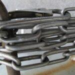 巻かれた鎖