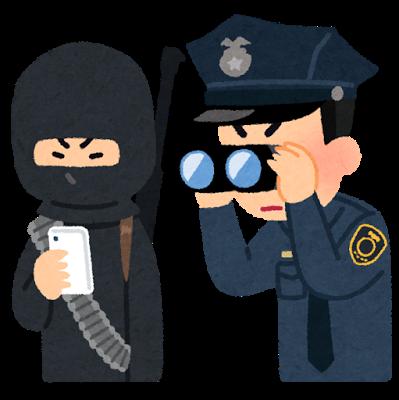テロリストが使うスマートフォンを遠くから監視しているFBIの警察官