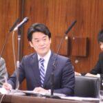 民進党小西ひろゆき議員外交防衛委員会