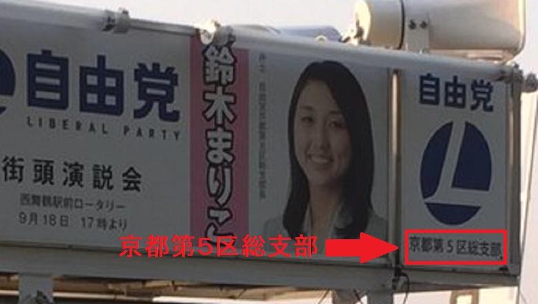 鈴木まりこ京都第5区総支部
