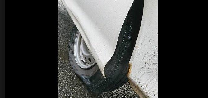 池田真紀の変形タイヤ