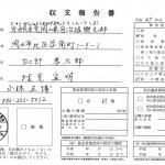 自由民主党岡山県自治振興支部政治資金収支報告書平成27年分