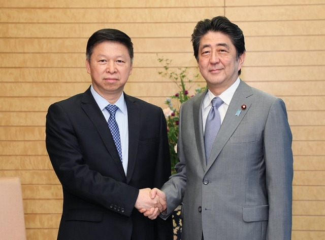宋濤中国共産党対外連絡部部長等による表敬
