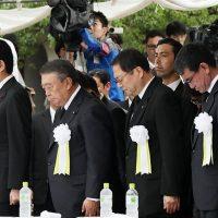 平成29年8月9日 長崎原爆犠牲者慰霊平和祈念式典参列等