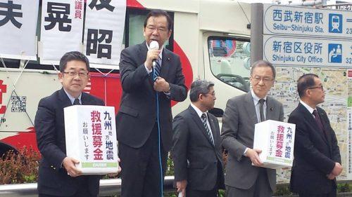 日本共産党ついに崩壊か?深刻な資金難で募金活動「供託金が払えない、急を要する」野党共闘崩壊で大打撃
