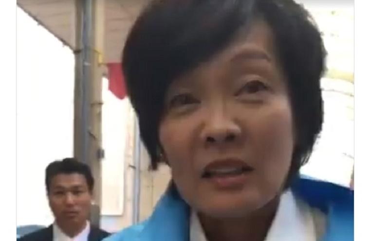 恐怖!黒川敦彦陣営が昭恵夫人の手を握りSPに緊張が走る!事務所への嫌がらせ訪問や嘘の選挙情勢流布も
