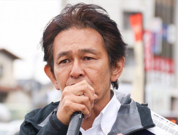 公選法違反!希望の党・松野頼久の運動員を逮捕、ビラ配りで日当7千円の買収約束の疑いで