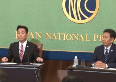 前原代表の切腹が決定!枝野幸男「出来なかったら腹を切るとまで言っていたから実現するものと思っている」