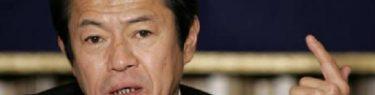 デマ!木下ちがや「中川郁子候補が土下座プレイ」←亡き夫、中川昭一を想い思わず土下座した5年前の写真