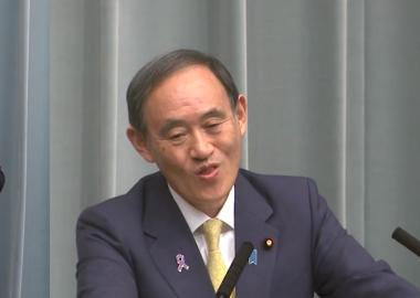 東京新聞・望月イソ子記者の珍問を受けた時の菅義偉官房長官の顔www「変顔でもして時間を過ごそっと」