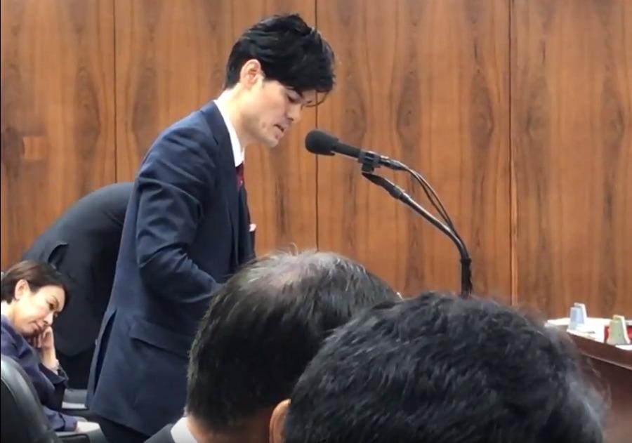 山尾志桜里の態度が最悪!法務委員会でデートレイプドラッグ被害防止対策質疑中に一切資料を見ず居眠りも2