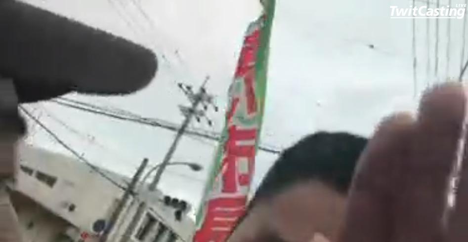 名護市長選でフェイクニュース「稲嶺進派が妨害活動の動画」撮影日が公示日前で選挙妨害ではない別の動画