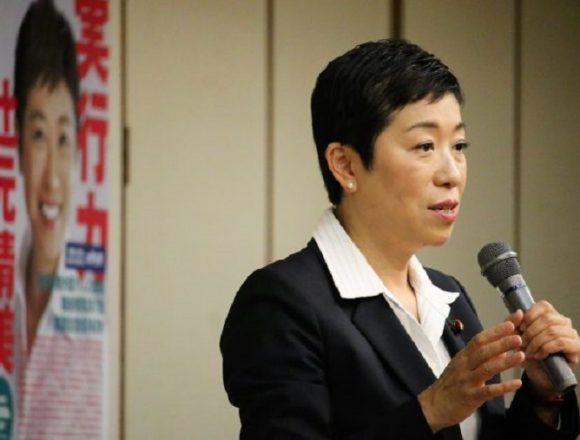 関西生コン家宅捜索?辻元清美がブログ更新「大阪で国政報告会や、いつもとは違う緊張感がある雰囲気」