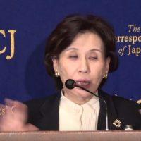 暴言!田中真紀子「拉致問題解決は余計なこと、拉致問題で訪米旅費の無駄」外国特派員協会で笑いのネタに