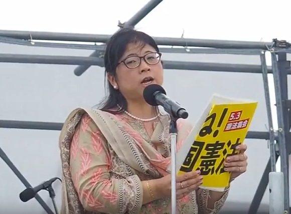 室蘭工業大准教授「自衛隊は沖縄の民衆に銃を向けることができる」護憲派集会でスピーチ