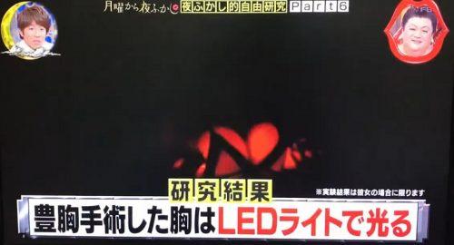 日テレ「豊胸手術した胸はLEDで光る」に東京美容外科「乳がん治療でもシリコンは使う、十分な配慮を」