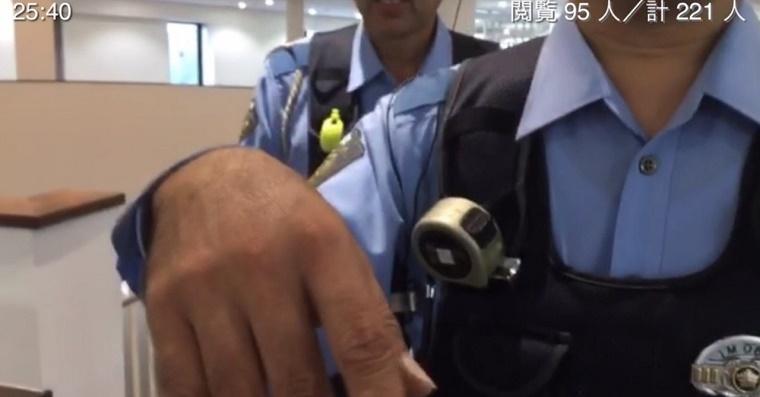 警察出動動画あり!黒川敦彦が加計獣医学部を無許可中継→不法侵入と不退去で逮捕を検討される事態に