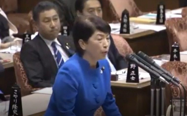 福島瑞穂議員が国会で暴言「外国人技能実習生は奴隷制」不穏当発言で予算委員会が一時中断