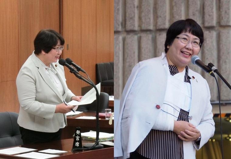 共産・高橋千鶴子が謎のアピール「質問で原稿を持つ手、先月肩を脱臼してた!足が3回つって寝てない!」