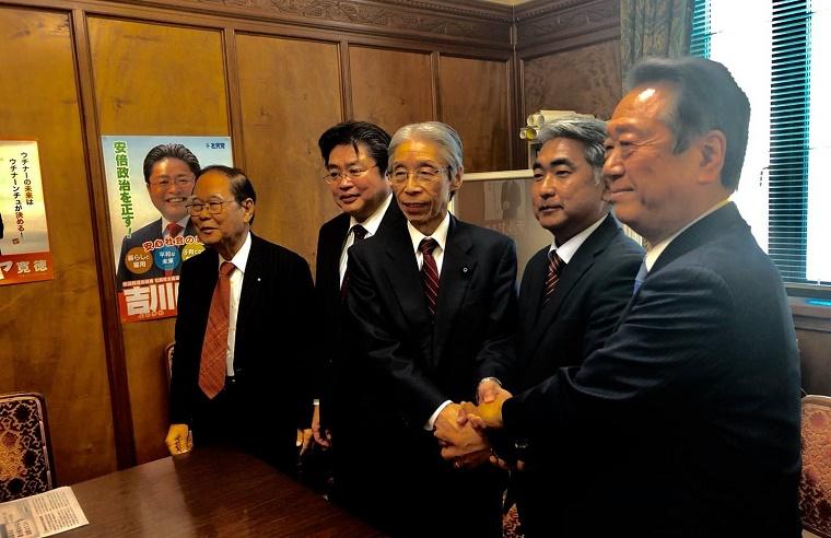 オール沖縄・屋良朝博衆院議員にパワハラ不倫報道、直撃取材に「いや~それは、私はまったく……認識しておりません」