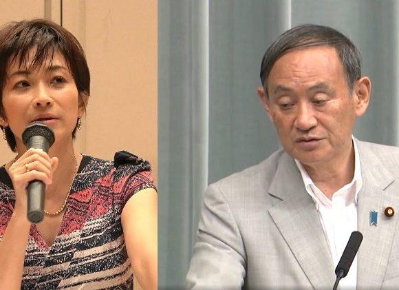 東京新聞・望月記者「輸出管理強化で韓国からの訪日客が減った」菅長官「逆に中国から11%も伸びてるので問題なし」