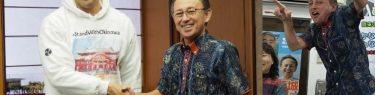 玉城デニー知事、琉球人虐殺発言のロブ・カジワラを見捨てる「意見を申し述べる立場にはない」→半年前に県庁で面談「世界に伝えてくれて感謝」