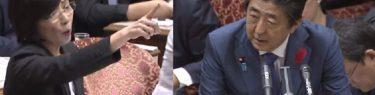 森ゆうこ議員「避難所でワインを出せとは言ってない!」→動画「イタリアでは食事はフルコース、ワインまで出る」総理に対応を求めていた