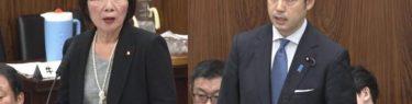 【動画】森ゆうこ「早く資料を出せ!」大塚拓副大臣「個人情報、うっかり出したでは済まされないので時間を要する」森「・・・」審議ストップ