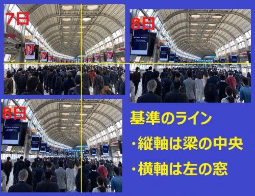 検証!朝日新聞記者が写真を加工か?緊急事態宣言下の品川駅の写真が不自然過ぎるとツッコミ殺到